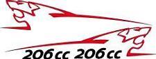 Stickers autocollants kit peugeot sport lion 206cc