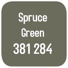 BRITISH STANDARD 381C 284 CELLULOSE PAINT  SPRUCE GREEN 2.5L