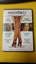 Secretary - A Film By Steven Shainberg DVD (B3)