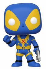 Funko Pop! Heroes - Deadpool (Blue) (Yellow) (10 inch) Vinyl Figure (Walmart Exclusive)