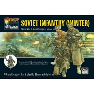 Warlord Games Bolt Action Soviet Army Winter Infantry
