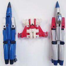 G1 Transformers Planes Lot parts Loose Figures Starscream Thundercracker Strafe