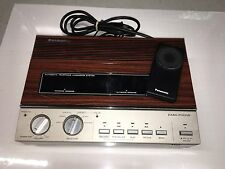 Vintage Panasonic KX-T1520 Answering Machine With Remote