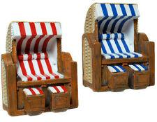 Deko Miniatur Mini Strandkorb für Geldgeschenke zur Dekoration zum Geburtstag