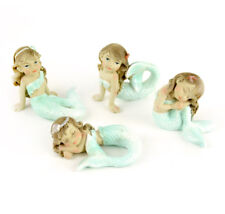 Miniature Dollhouse Fairy Garden - Garden Mermaids - Set of 4 - Accessories
