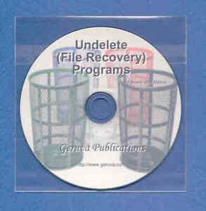 Undelete/File Recovery CD Linux/UNIX Windows Mac