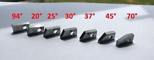 E2  Set of 7 .Valve seat cutting carbide tip bit,SERDI NEWEN ROTTLER SUNNEN