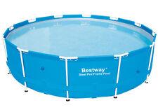 Bestway 366 x 100cm Steel Pro Frame Pool ohne Zubehu00f6r Poolfolie und Rahmen
