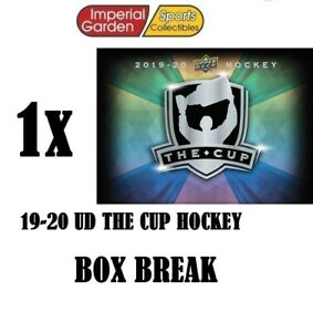 SINGLE * 19-20 * UD THE CUP HOCKEY Box Break #2667- Montreal Canadiens