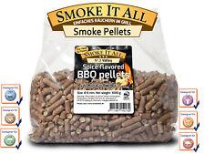 BBQ Grill Pellets Räucherpellets Buchenholz-Pellets mit Gewürzen 1,0 kg