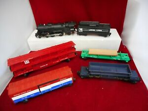 Lionel 6-8800 Chesapeake Flyer Locomotive w/Box, tender and 4 Cars C7 Ex