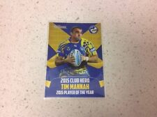 Single - Insert Parramatta Eels Modern (1970-Now) NRL & Rugby League Trading Cards
