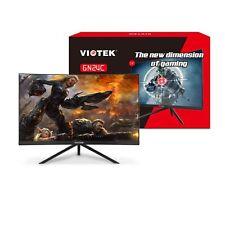 "VIOTEK GN24C 24"" Curved Monitor Samsung VA Panel Speakers HD 1080p 144Hz"