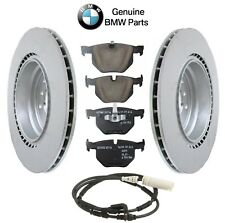 BMW E84 E92 F30 Set of Rear Left & Right Vented Brake Rotors with Pads Genuine