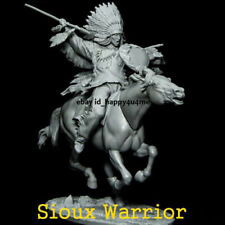 1/32 Resin Ancient Warrior With Horse Figure Model Unpainted Garage Kits Statue