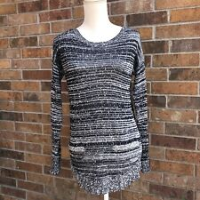 Ann Taylor Loft Cable Knit Crew Neck Pullover Sweater- Small