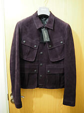 £2690!!! RUNWAY!!! BURBERRY PRORSUM SS15 LEATHER JACKET IT46 US36 SMALL S
