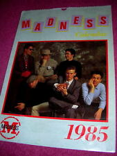 MADNESS - OFFICIAL CALENDAR FROM 1985 - SUGGS SKA TWO 2 TONE STIFF SPECIALS CD