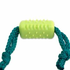 Hyper PetLogix Lil Barks Rope Stick -Fetch Puppy Teething Toy Chicken Flavour