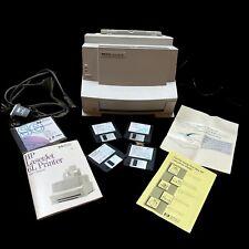 Hewlett Packard LaserJet 6L Laser Printer Compatible With Windows Not Tested