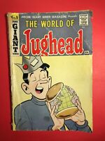 The World of JUGHEAD #9  Archie GIANT Series 1960 low grade in my opinion