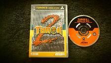 TUROK 2: SEEDS OF EVIL PC CD-ROM FPS SHOOTER V.G.C. FAST POST