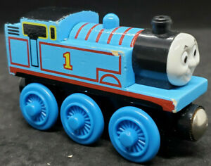 THOMAS the tank engine #1. & Friends . Wooden Railway. Wood & Magnetic VINTAGE.
