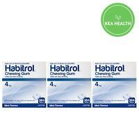 Habitrol 4mg MINT Nicotine Gum - 1,152 pcs - 3 BULK boxes - STOP Smoking NOW