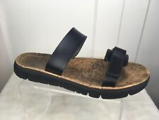 Camper Oruga Slide $100 Leather Double Strap Sandals Women's Sz EU 39 US 7 VGUC