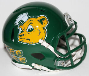 2019 Baylor Bears Custom Riddell Mini Helmet v Texas Tech
