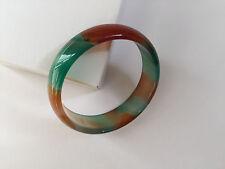 53 Mm Multi-color Agate Bracelet Bangle -