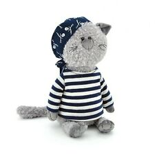 """Soft toy Cat Buddy Pirate 16"""" inch whith crafts box"""