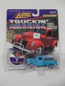 Johnny Lightning 1/64 Truckin' America 1950 Ford