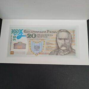 Poland banknote 20 zloty 2014 Commemorative Józef Piłsudski Legionów