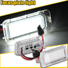 2P LED Licence Number Plate Light Ford Fiesta Focus C-Max Kuga S-Max Galaxy MK4