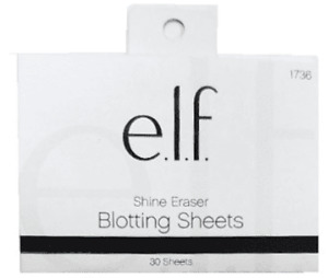 E.L.F. Shine Eraser Blotting Papers 30 Sheets #1736
