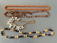 A nice lot of Costume Jewelry: 12 Necklaces; 1 pr. Earrings; 1 Ring(watch)