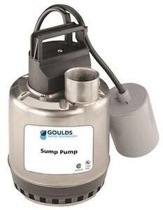 Goulds LSP0711F LSP07 Series Submersible Sump Pumps, 3/4 HP, 115 Volt, 60 Hz