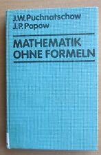 Lehrbuch Mathematik ohne Formeln  Mengen Folgen Reihen Funktionen Integrale