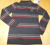 Quiksilver boy longsleeve top t-shirt 9-10 y BNWT  cotton polo