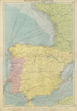 FRANCE sketch map c1885 old antique vintage plan chart Bordeaux