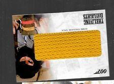 James Bond bomb grenade sack relic card RC15 Living Daylights YELLOW VARIATION