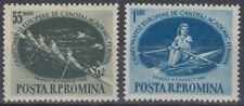 Romania 1955 Women'S Rowing Championships Mint Pair (Id:491/D48443)
