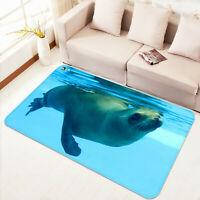 3D Sea Lion Submarine ZHUA507 Game Non Slip Rug Mat Photo Carpet Zoe