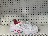 Wilson Tour Vision Womens Athletic Tennis Shoes Size US 11 UK 9 White Pink
