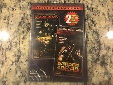 SCARECROWS + GARDEN OF THE DEAD RARE NEW SEALED DVD ZOMBIE HORROR GORE CLASSICS