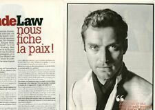 Coupure de presse Clipping 2008 Jude Law   (3 pages)