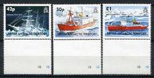 BRIT. ANTARKTIS BAT ANTARCTIC 2005 Schiffe Ships HMS Endurance 397-399 ** MNH