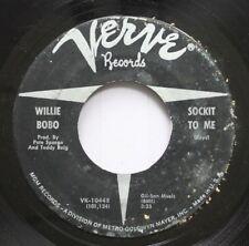 Hear! Northern Soul 45 Willie Bobo  - Sockit To Me / Sunshine Superman On Verve