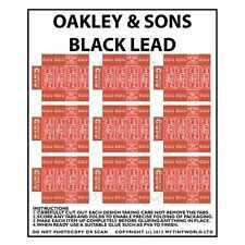 Miniatura Para Casa De Muñecas Hoja de 9 Oakley & Sons Negro Cable